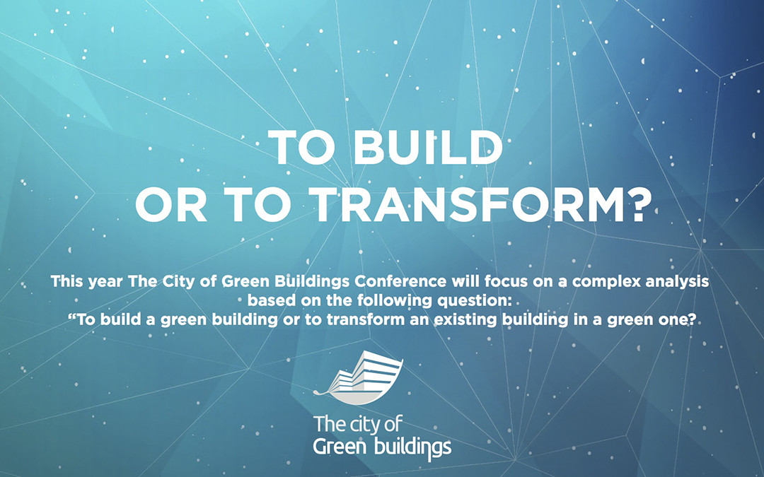 Last chance for the Early Bird Registration at The City of Green Buildings Conference 2015